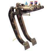 Tilton 900 Series 2 Pedal Overhung Mount Pedal Assembly With Billet Aluminium Pedals 72-902