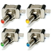 Motorsport Lucar Toggle Switches with LED