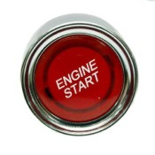 Red Illuminated Engine Start Switch 50amp