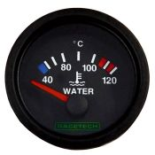 Racetech Electric water temperature gauge 40-120 °C.