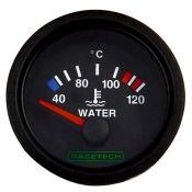 Racetech Electric water temperature gauge 40-120 °C.