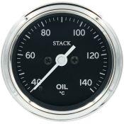 STACK Classic Professional Stepper Motor Oil Temperature Gauge °C Or °F