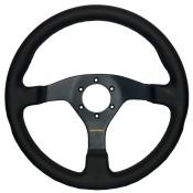 APS Sport Line 350mm Flat 3 Spoke Steering Wheel