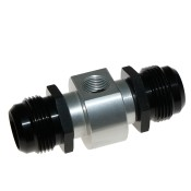 Aluminium Gauge Adaptor Threaded Outlets