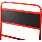 BG Racing Standard Black Pit Board Name Plate/Header