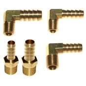 Brass Fuel Unions NPT to Push-On Hose