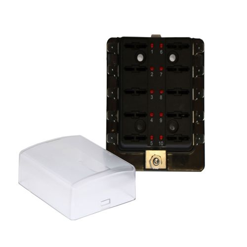 Astounding Buy Blade Fuse Boxes With Led Blown Fuse Indicator Warning Lights Wiring Digital Resources Lavecompassionincorg