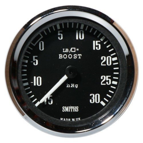 Smiths Boost Pressure Gauges