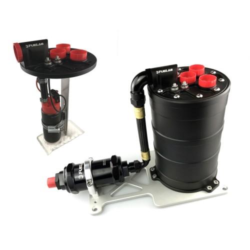 Fuelab Fuel Tanks, Collectors & Swirl Pots