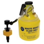 Professional Brake Bleed Bottles - Single Person Operation