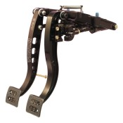 Tilton 900 Series 2 Pedal Firewall Mount Pedal Assembly With Billet Aluminium Pedals 72-901