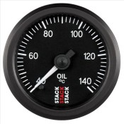 STACK Professional Stepper Motor Oil Temperature Gauge °C Or °F