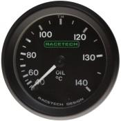 Racetech Mechanical Oil Temperature Gauge 40-140 °C