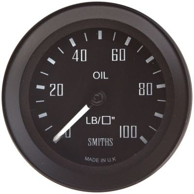 Buy Smiths GT40 Stepper Motor Oil Pressure Gauge from