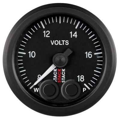 STACK Battery/Voltmeter Gauges